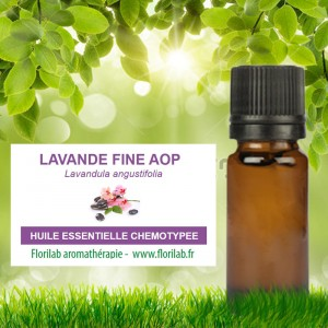 Huile essentielle  Lavande vraie AOP Haute Provence