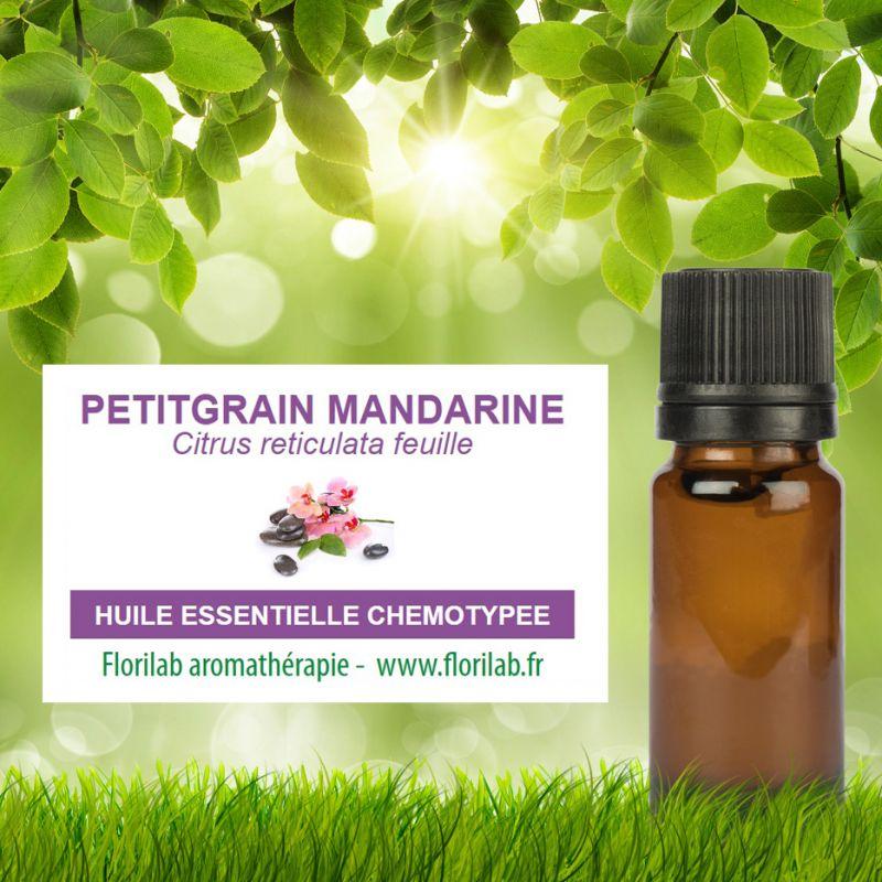 Huile essentielle de PETITGRAIN MANDARINE