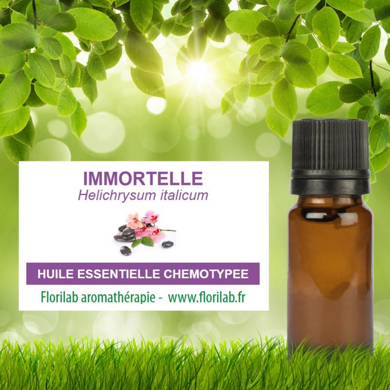 Huile essentielle d'IMMORTELLE (HELICHRYSE)