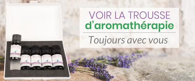 trousse d'aromathérapie