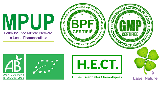 Certifications huiles essentielles Florilab